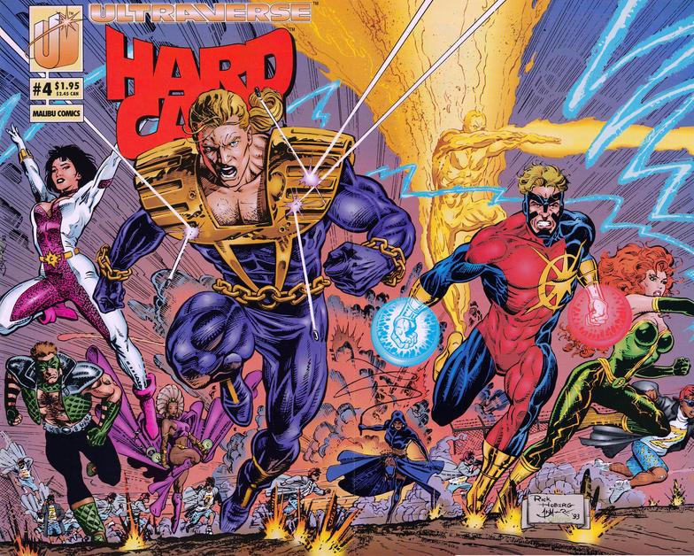 Cover for Hardcase (Malibu, 1993 series) #4