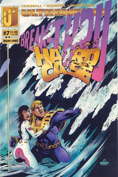 Cover for Hardcase (Malibu, 1993 series) #7