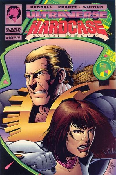 Cover for Hardcase (Malibu, 1993 series) #10