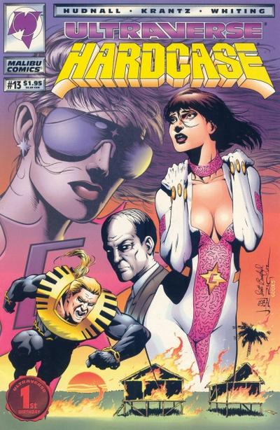 Cover for Hardcase (Malibu, 1993 series) #13