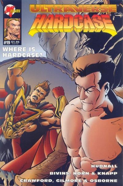 Cover for Hardcase (Malibu, 1993 series) #19