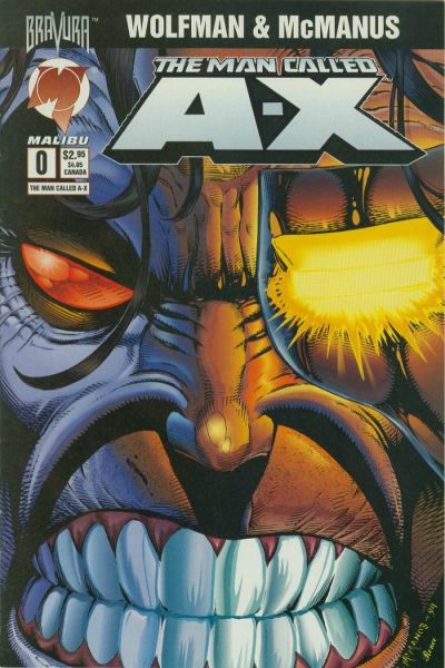 Cover for The Man Called A-X (Malibu, 1994 series) #0