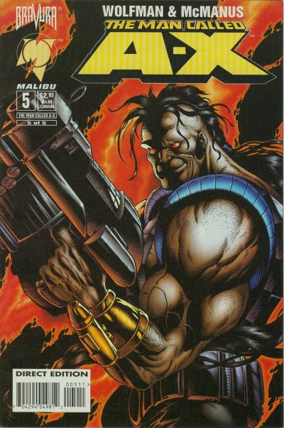 Cover for The Man Called A-X (Malibu, 1994 series) #5