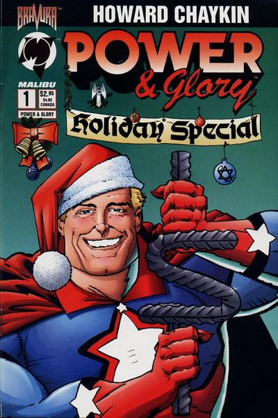 Cover for Power & Glory Holiday Special (Malibu, 1994 series) #1