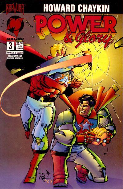 Cover for Power & Glory (Malibu, 1994 series) #3