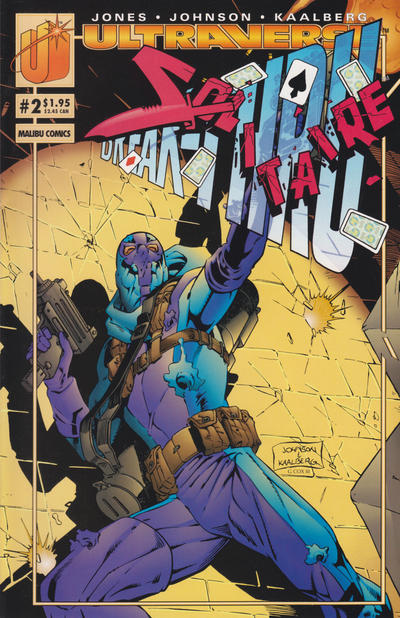 Cover for Solitaire (Malibu, 1993 series) #2