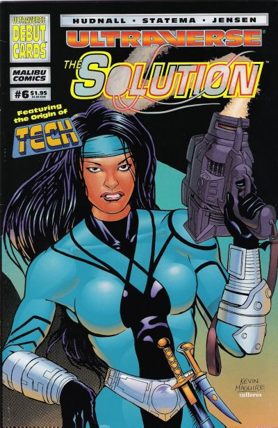 Cover for The Solution (Malibu, 1993 series) #6