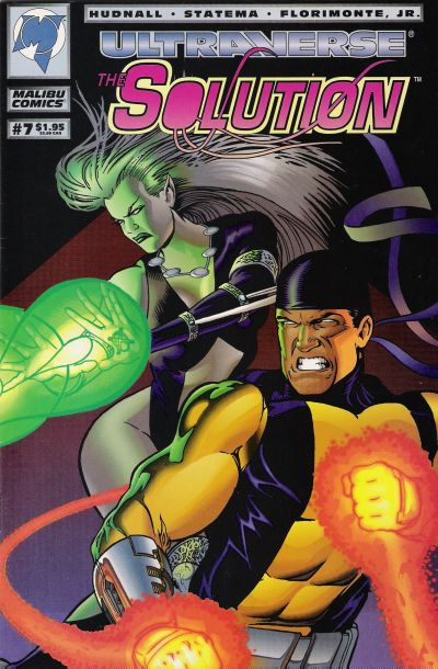 Cover for The Solution (Malibu, 1993 series) #7