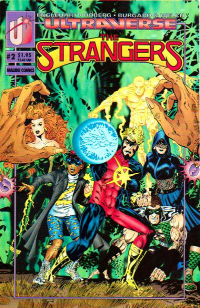 Cover for The Strangers (Malibu, 1993 series) #2 [Direct]