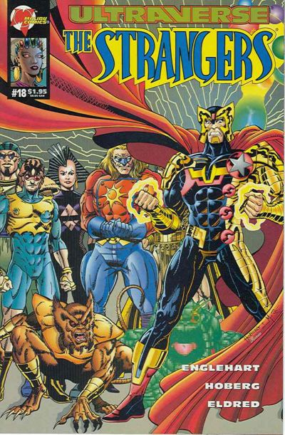 Cover for The Strangers (Malibu, 1993 series) #18