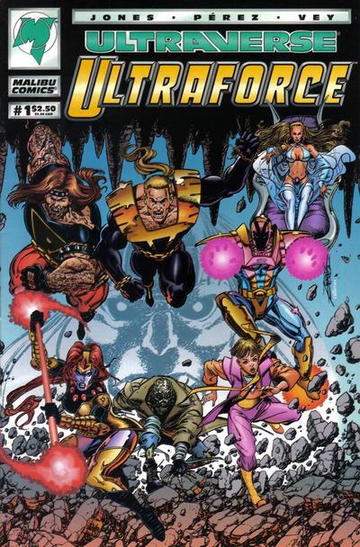 Cover for UltraForce (Malibu, 1994 series) #1 [Direct Edition]