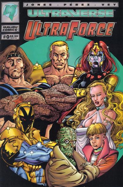 Cover for UltraForce (Malibu, 1994 series) #0