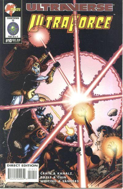 Cover for UltraForce (Malibu, 1994 series) #10