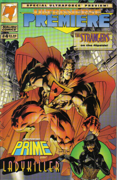 Cover for The Strangers (Malibu, 1993 series) #13