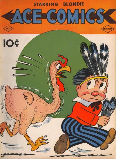 Cover for Ace Comics (David McKay, 1937 series) #33