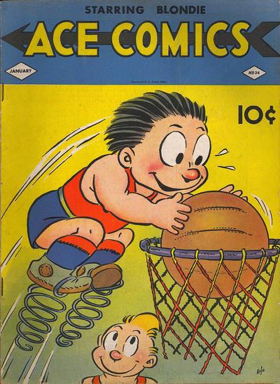 Cover for Ace Comics (David McKay, 1937 series) #34