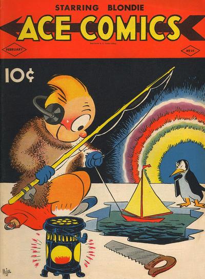 Cover for Ace Comics (David McKay, 1937 series) #35