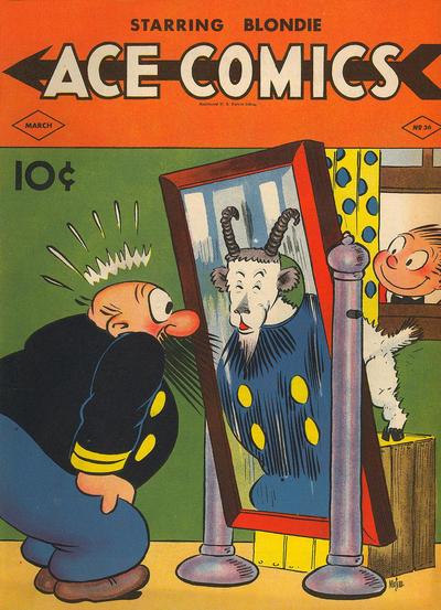 Cover for Ace Comics (David McKay, 1937 series) #36