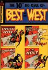 Cover for Best of the West (Magazine Enterprises, 1951 series) #10 [A-1 #87]