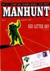 Cover for Manhunt (Magazine Enterprises, 1947 series) #4