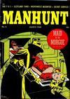 Cover for Manhunt (Magazine Enterprises, 1947 series) #6