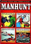 Cover for Manhunt (Magazine Enterprises, 1947 series) #7