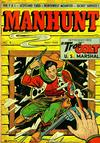 Cover for Manhunt (Magazine Enterprises, 1947 series) #8