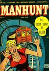 Cover for Manhunt (Magazine Enterprises, 1947 series) #9