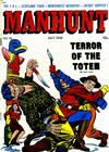 Cover for Manhunt (Magazine Enterprises, 1947 series) #10