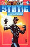 Cover for Static (DC, 1993 series) #1 [Collector's Edition]
