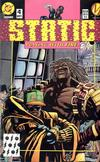 Cover for Static (DC, 1993 series) #4