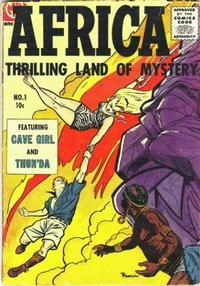 Cover Thumbnail for Africa (Magazine Enterprises, 1955 series) #1