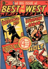Cover Thumbnail for Best of the West (Magazine Enterprises, 1951 series) #2 [A-1 #46]