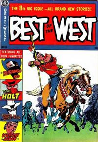 Cover Thumbnail for Best of the West (Magazine Enterprises, 1951 series) #11 [A-1 #97]