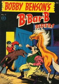 Cover Thumbnail for Bobby Benson's B-Bar-B Riders (Magazine Enterprises, 1950 series) #11