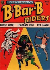 Cover Thumbnail for Bobby Benson's B-Bar-B Riders (Magazine Enterprises, 1950 series) #13