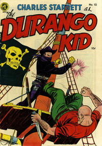 Cover Thumbnail for Charles Starrett as the Durango Kid (Magazine Enterprises, 1949 series) #10