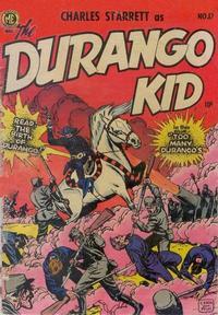 Cover Thumbnail for Charles Starrett as the Durango Kid (Magazine Enterprises, 1949 series) #17