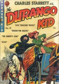 Cover Thumbnail for Charles Starrett as the Durango Kid (Magazine Enterprises, 1949 series) #18