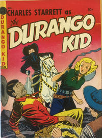 Cover Thumbnail for Charles Starrett as the Durango Kid (Magazine Enterprises, 1949 series) #20
