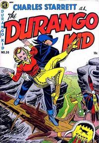 Cover Thumbnail for Charles Starrett as the Durango Kid (Magazine Enterprises, 1949 series) #30