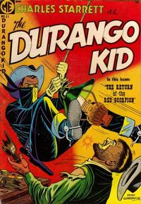 Cover Thumbnail for Charles Starrett as the Durango Kid (Magazine Enterprises, 1949 series) #31