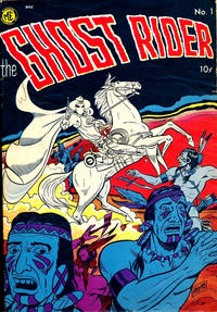 Cover Thumbnail for The Ghost Rider (Magazine Enterprises, 1950 series) #1 [A-1 #27]