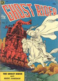 Cover Thumbnail for The Ghost Rider (Magazine Enterprises, 1950 series) #2 [A-1 #29]