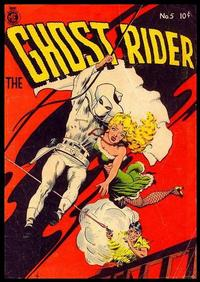Cover Thumbnail for The Ghost Rider (Magazine Enterprises, 1950 series) #5 [A-1 #37]