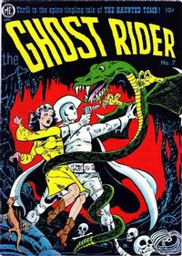 Cover Thumbnail for The Ghost Rider (Magazine Enterprises, 1950 series) #7 [A-1 #51]