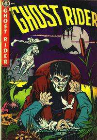 Cover Thumbnail for The Ghost Rider (Magazine Enterprises, 1950 series) #10 [A-1 No. 71]