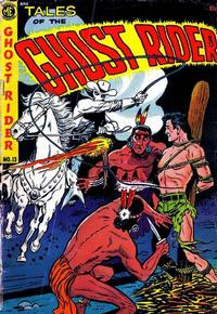 Cover Thumbnail for The Ghost Rider (Magazine Enterprises, 1950 series) #13 [A-1 No. 84]