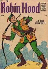 Cover Thumbnail for Robin Hood (Magazine Enterprises, 1955 series) #3