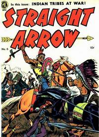 Cover Thumbnail for Straight Arrow (Magazine Enterprises, 1950 series) #6